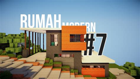 Rumah Modern #7  Review  Minecraft Indonesia Youtube