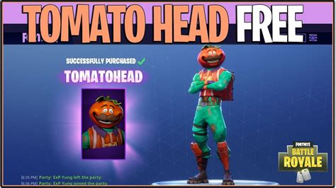 fortnite    tomato head skin