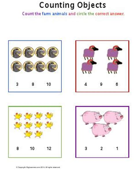 counting objects preschool and kindergarten math