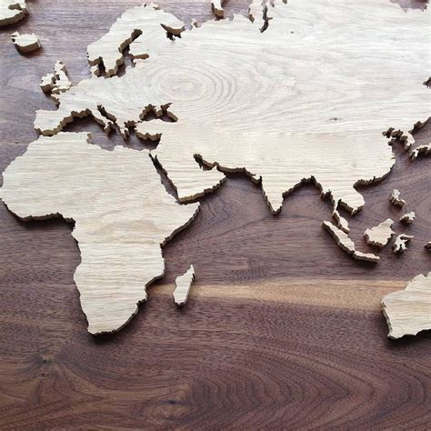 7 best images about wood world map on pallet