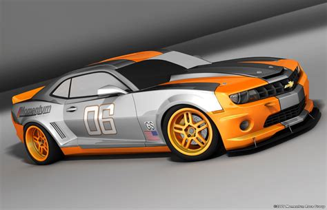 Racing Car by Momentum Race To Use 2010 Camaro For The Koni Sports