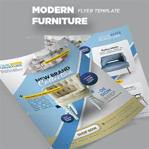 Furniture Flyer Graphics Designs & Templates from