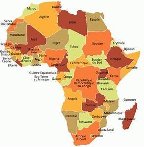 Carte Du Monde Metallique : carte afrique carte du monde ~ Teatrodelosmanantiales.com Idées de Décoration