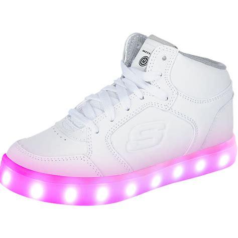 sneaker mit led sohle skechers kinder sneakers high blinkies mit led sohle wei 223 mirapodo