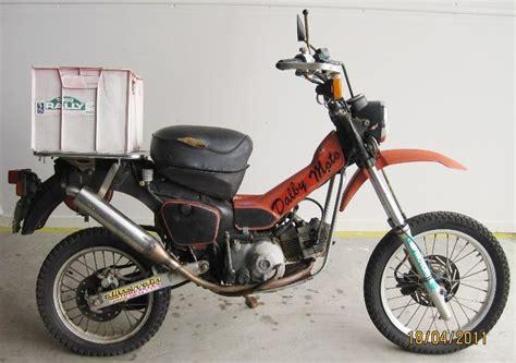 Dirt Bike Style Postie Bike