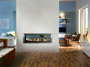 la deco avec une cheminee contemporaine With salle de bain design avec cheminée décorative électrique pas cher