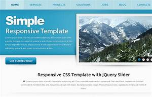 25 free html5 templates designgraphercom With simple html5 templates free download