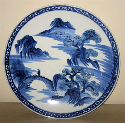 blue and white china l chinese blue white porcelain charger from