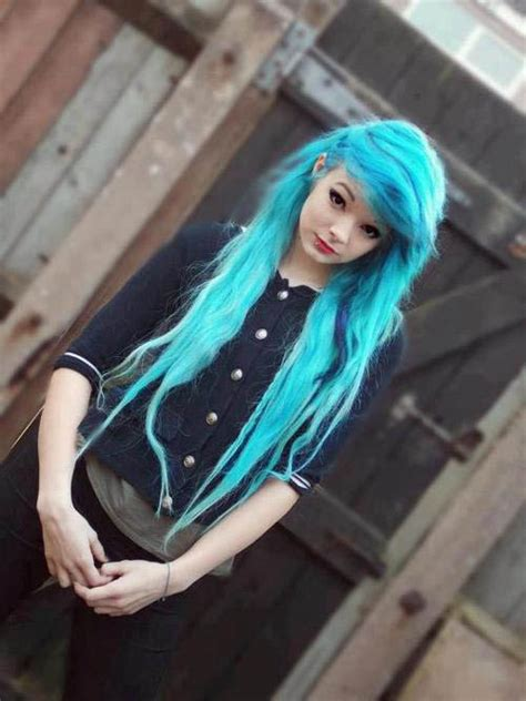 Vibrant Blue The Latest Trends In Womens Hairstyles And