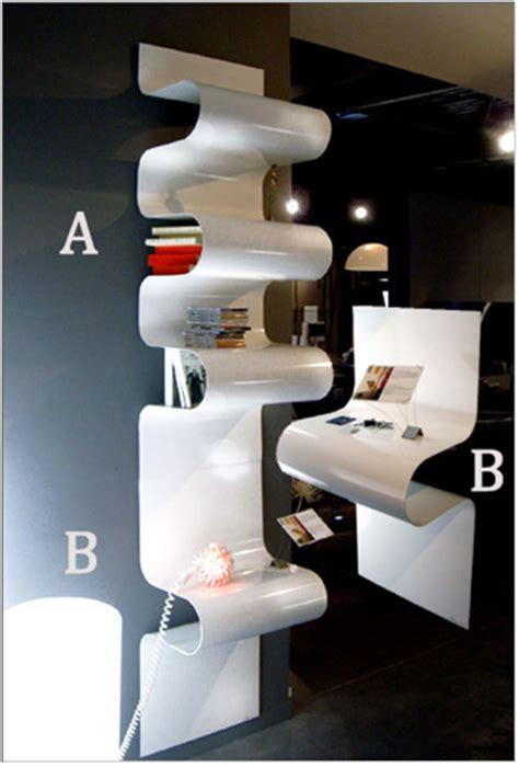 Des étagères Ondulées Très Déco  Home And Office Design