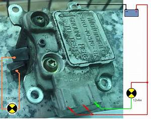 Diagrama Regulador De Voltaje Ford
