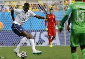 France 20 Nigeria Paul Pogba Header And Joseph Yobo Own