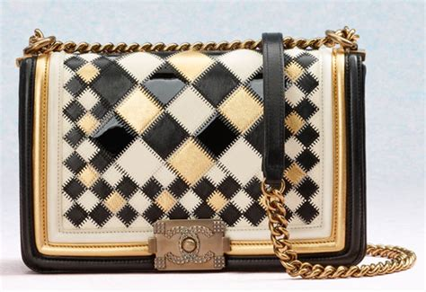 chanel boy bags  cruise  versailles collection spotted fashion