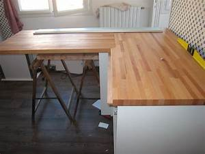 Couper Un Plan De Travail : plans de travail de cuisine ~ Dailycaller-alerts.com Idées de Décoration