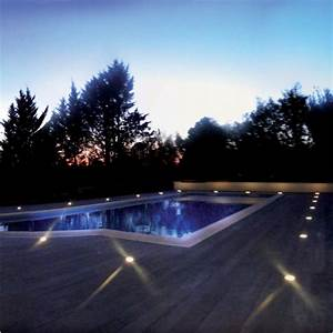Eclairage Exterieur Piscine : spot led encastrable pour terrasse plancher bois 65202 ~ Premium-room.com Idées de Décoration