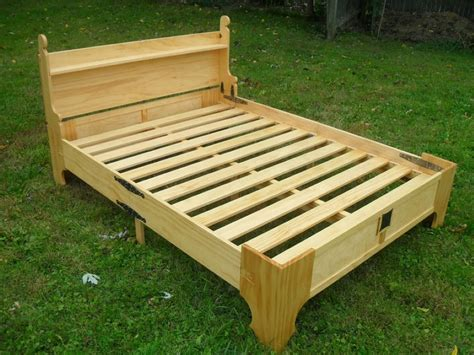 bed frame support slats this amazing fold up bed can be stored in a small wooden