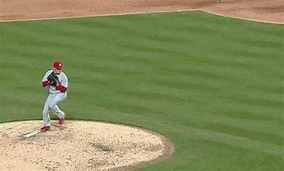 Ball Throw Pitch Fake Cardinals Seth Maness