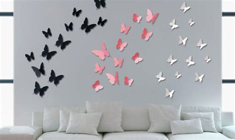 stickers papillons 3d groupon shopping