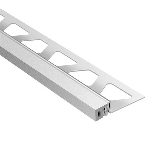 schluter dilex ksa stainless steel with classic grey