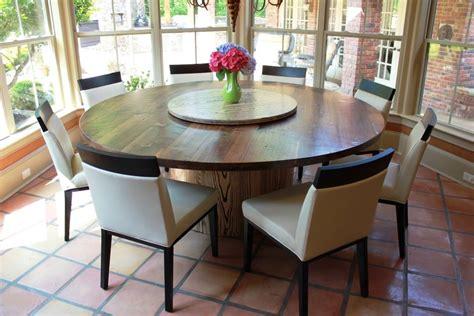 walnut  ash table lazy susan   middle