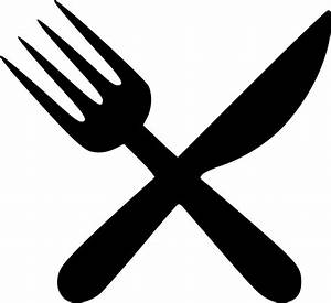 Fork Knife Svg Png Icon Free Download (#479707 ...