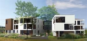 Immeuble de 12 logements Architecture et Bois Maison et Extension