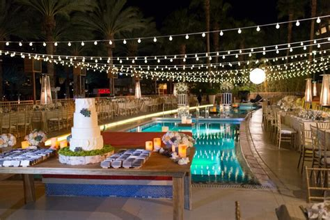 glamorous wedding  red rock hotel  casino  las