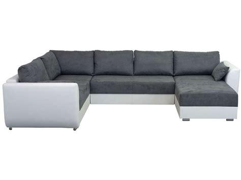 canapé d angle assise profonde canapé d 39 angle droit fixe 8 places coloris gris