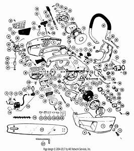 Poulan 20 Gas Saw Parts Diagram For Chain Saw Assembly