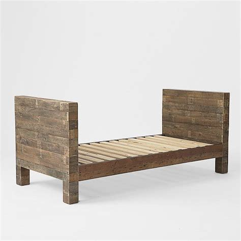 emmerson reclaimed wood daybed natural west elm for
