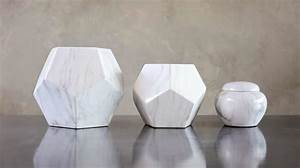 Marble Geometric Vases – M&B Events
