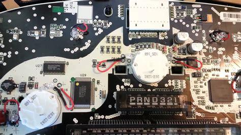 fix  gm gauge cluster  silverado pnrd shift