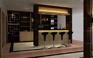 mini bar kitchen Small Kitchen Interior Design with Mini ...