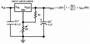 19v dc regulation circuit diagram With lm338 datasheet