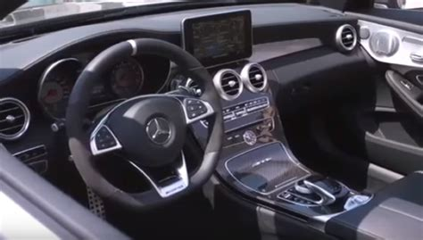 Youtube's collection of automotive variety! 2017 Mercedes C63 S AMG Cabriolet Interior - Video | DPCcars