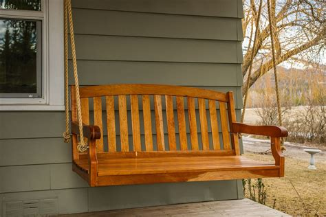 industrial looking lighting made porch swing by designs custommade com