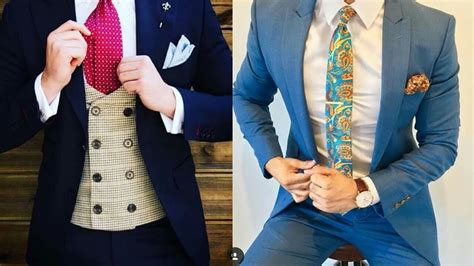 Latest Suits For Men##top Men's Style Must