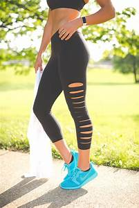 Weekly Workout Routine Lasercut Leggings | A Southern Drawl