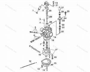 Polaris Atv 2003 Oem Parts Diagram For Carburetor A03fa09ca  Cc  Cd