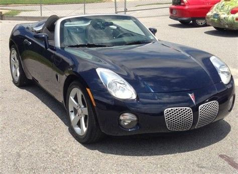 Purchase Used Pontiac Solstice 2007 Convertible Sports Car