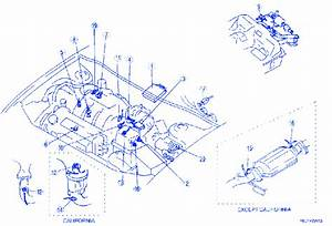 Mazda 626 2001 Engine Electrical Circuit Wiring Diagram
