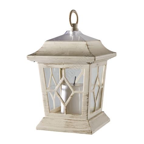 outdoor victorian solar flickering led candle lanterns