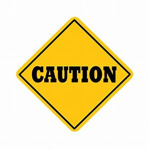 Blank Caution Sign - ClipArt Best