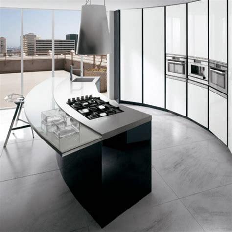 cuisine moderne noir et blanc cuisine moderne en noir et blanc 35 idées magnifiques