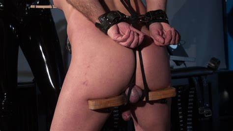 Blackpashion Shows The Bals No Mercy Satin Mistress Ball Torture