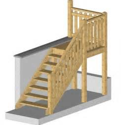 Construire Un Escalier Extérieur En Bois by Kit F 244 Ret Tous Nos Produits Disponible Chalets