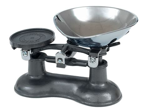 Graphite Grey Traditional Kitchen Scales