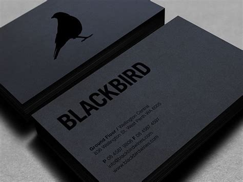 Black And White Business Card Designs