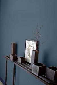 64 couleurs peinture pour peindre salon chambre With peinture mur bleu gris