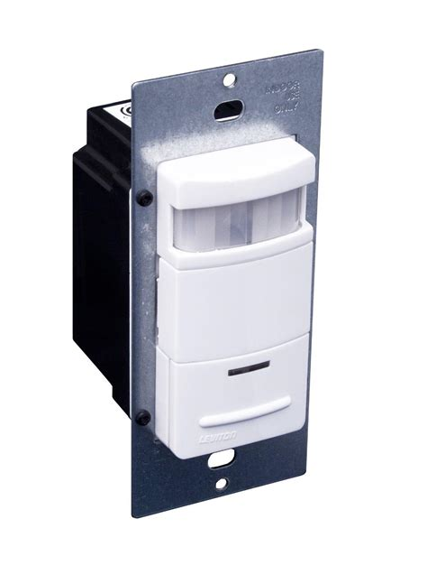 leviton ods10 id decora 120 277 volt wall switch occupancy